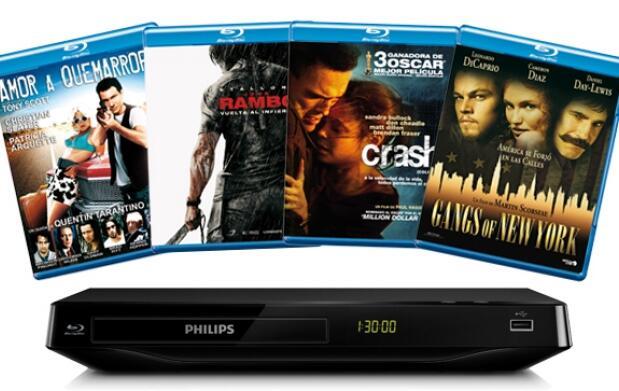 Cine en Blu-Ray a precio de VHS