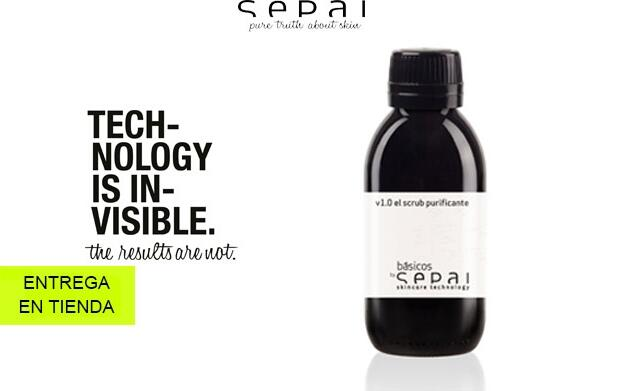 Crema corporal y scrub purificante SEPAI