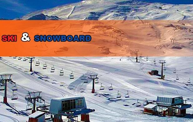 Alquiler de esquís o tabla Sierra Nevada