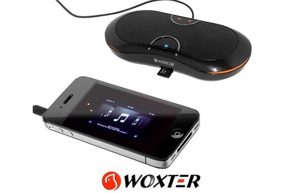 Altavoz portátil con reproductor de MP3