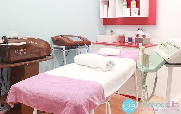 Tratamiento y limpieza facial en Centros Élite