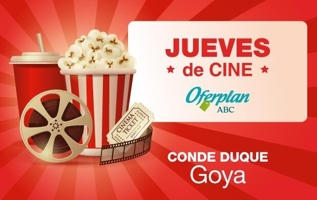 Entradas y palomitas Conde Duque Goya | Jueves de Cine