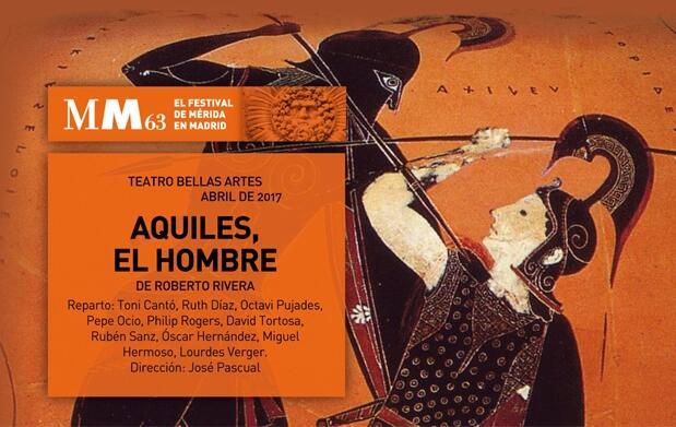 Entradas Aquiles, el hombre: Festival de Mérida en Madrid