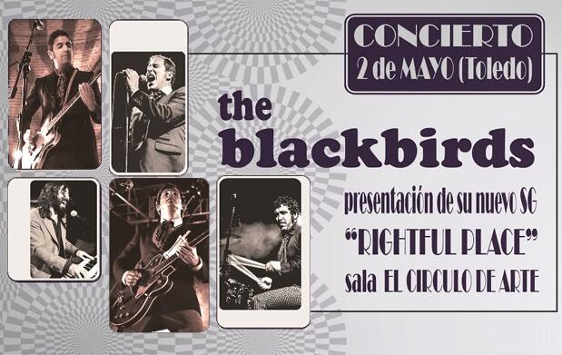 Entradas The Blackbirds en Círculo de Arte