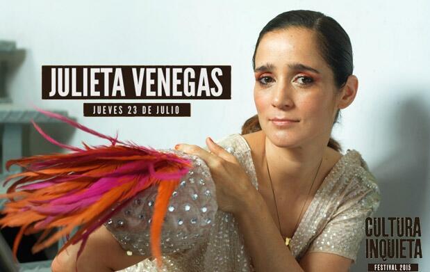 Concierto Julieta Venegas 12€