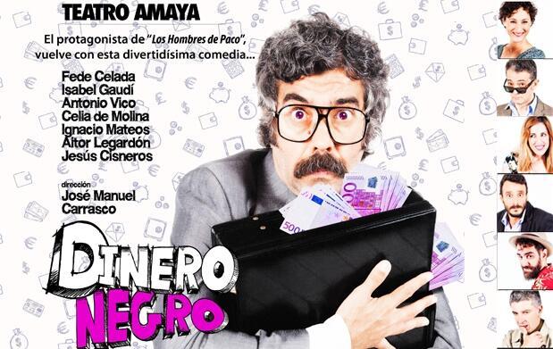 Entradas Dinero Negro: Teatro Amaya