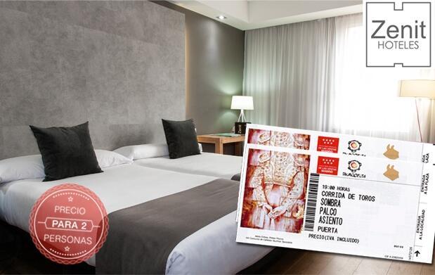 Noche en Hotel Zenit + Experiencia Taurina
