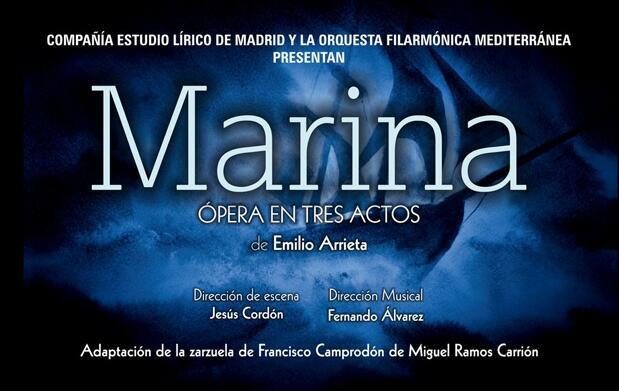 Entradas Ópera Marina en Madrid