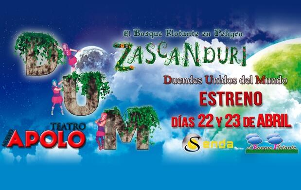 Entradas Zascanduri en Madrid