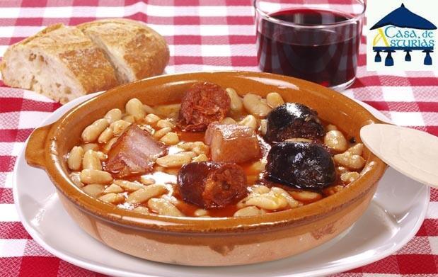 Cena asturiana para 2 en pleno centro