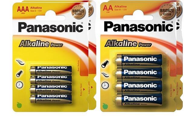 Pack de 48 pilas alcalinas Panasonic