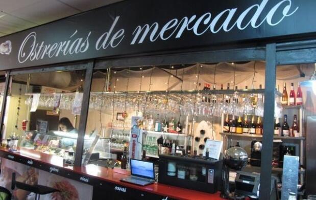 Menú: Ostrería del Mercado Antón Martín