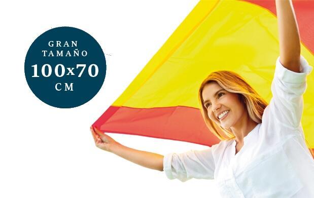 España: Bandera, pulsera y pintura
