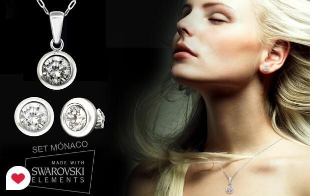 Díselo con joyas: Conjuntos Swarovski