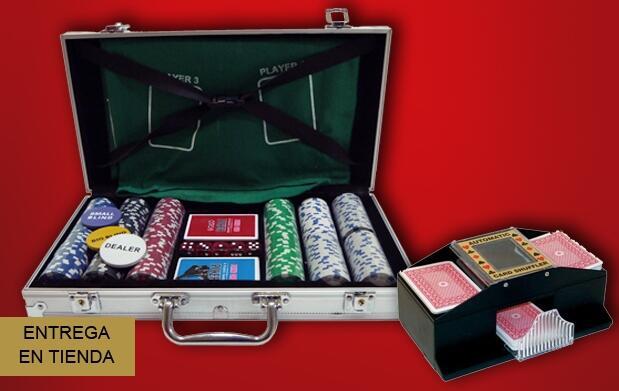Set de póker en maletín de aluminio