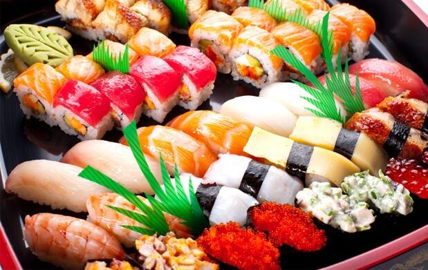 40 piezas de sushi para recoger