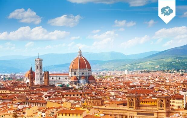 Disfruta 6 días en  Roma y Florencia