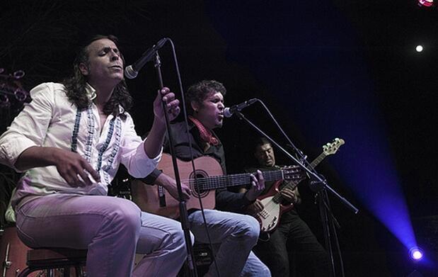 El Cigala, D. Carrasco y Navajita Plateá