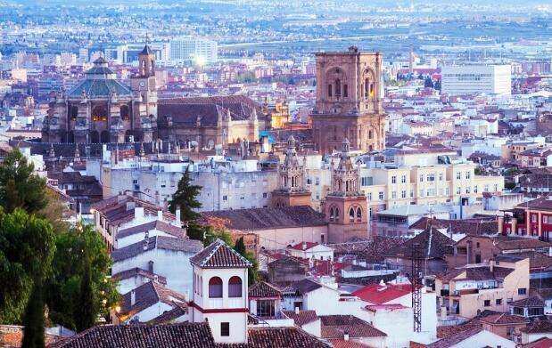 Granada, 3 días + Alhambra por 52€