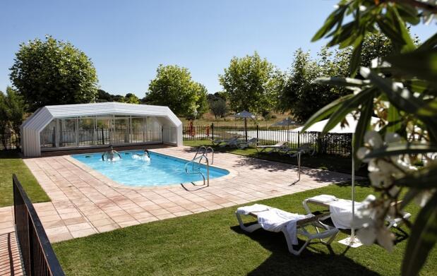 Balneario para 2 en Cáceres +  Pensión Completa