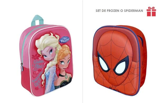 Regala un Set de Frozen o Spiderman