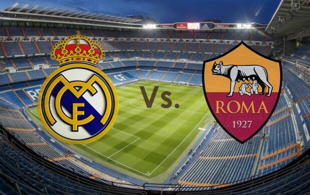 Champions League Real Madrid vs AS Roma