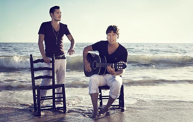 Andy & Lucas en concierto