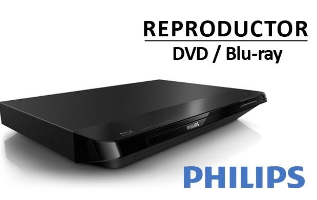 Reproductor DVD-Blu-ray PHILIPS