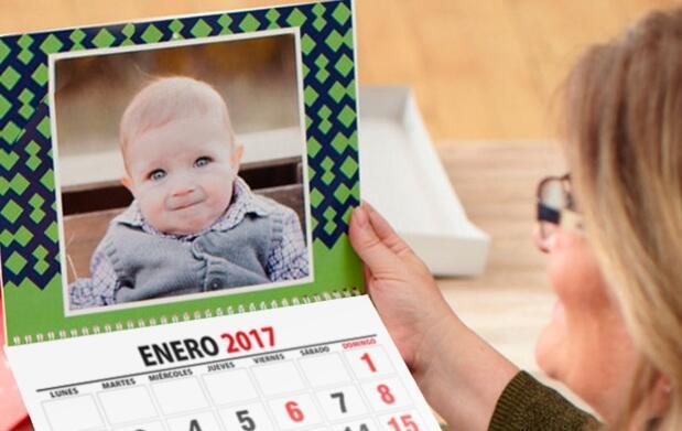 Calendario personalizado para el 2017