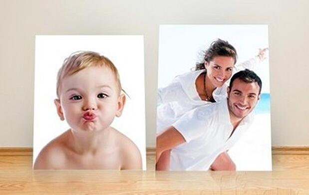 Imprime tus fotos en cartón pluma