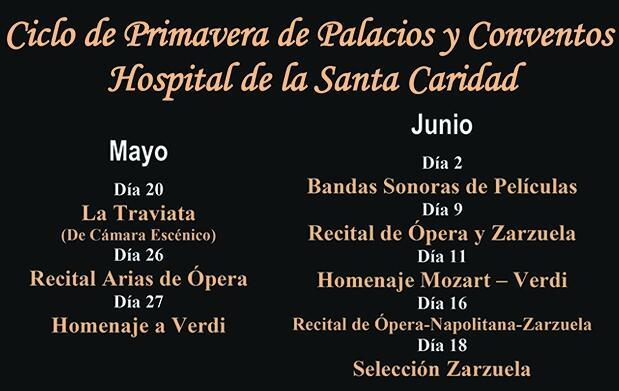 Ciclo de Palacios y Conventos en el Hospital de la Caridad