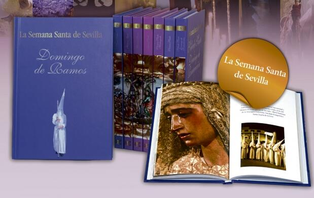 Colección 8 libros La Semana Santa de Sevilla