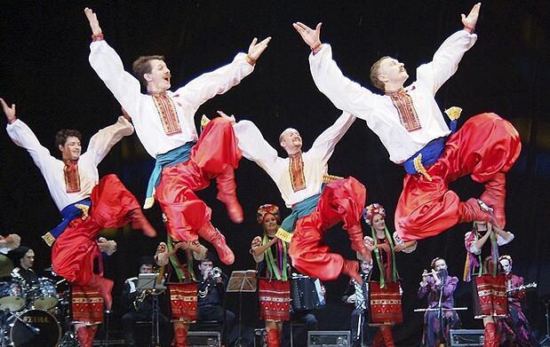 Entradas Danza Cosacos de Rusia