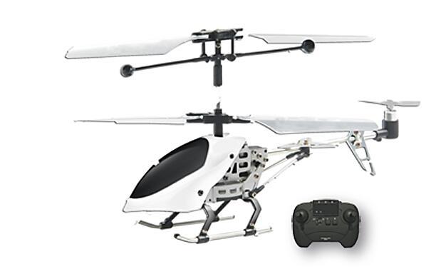 Diversión con helicóptero radiocontrol