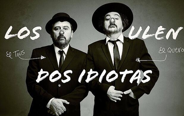 Dos idiotas con Paco Tous y Pepe Quero