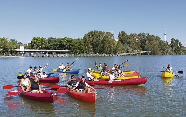 Ruta en kayak por el Guadalquivir