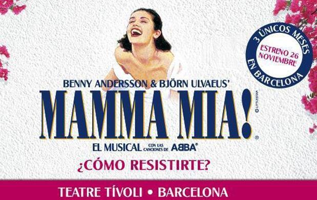 Musical Mamma Mía+Hotel 4* - Barcelona