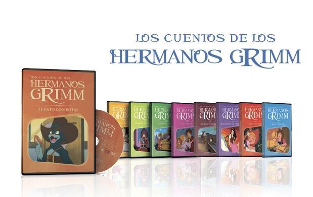 Colección grandes cuentos en DVD