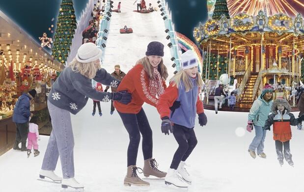 ¡Patinaje sobre hielo en el Prado!