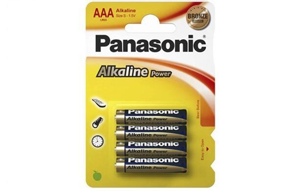 Pack de 96 pilas alcalinas Panasonic