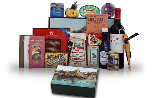 Caja de autenticos productos tradicionales