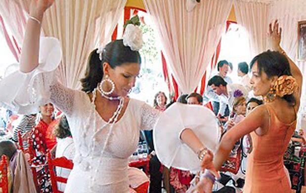 Clases de sevillanas y de flamenco