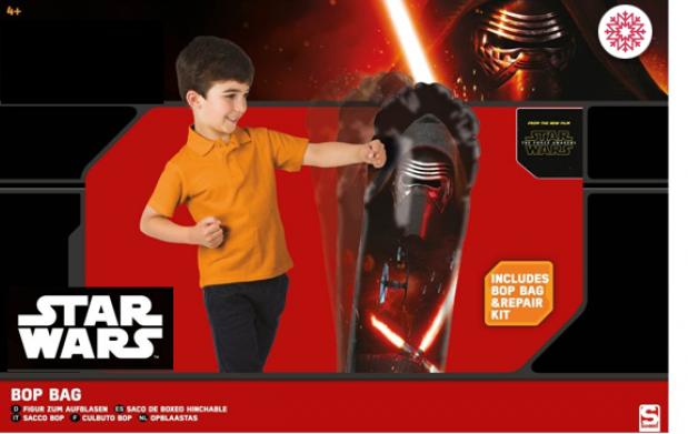 Saco boxeo hinchable Star Wars