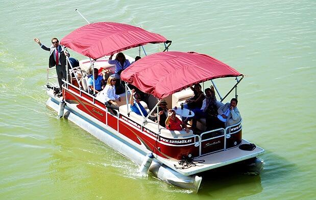 Paseo en barco por el Guadalquivir