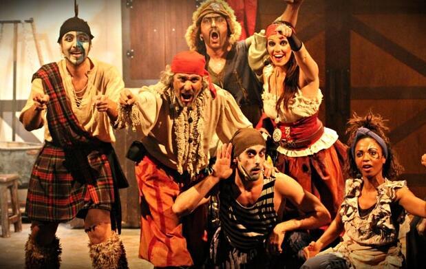 Musical infantil Una de piratas