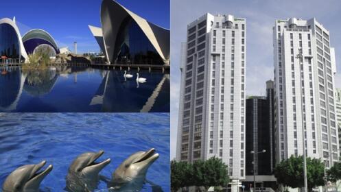 Valencia 3 D As Hotel 4 Oceanografic Descuento 40