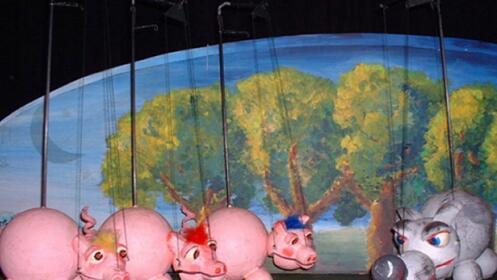 Entrada teatro infantil los tres cerditos descuento 42 for Valla infantil carrefour