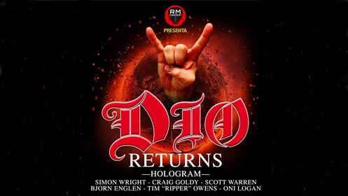 Entradas DIO Returns World Tour 2017 en Barcelona, Sala Bikini