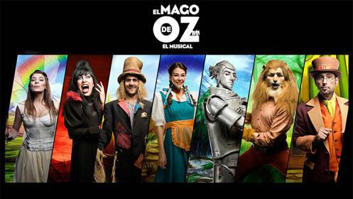 Entradas El Mago de oz, el Musical Madrid
