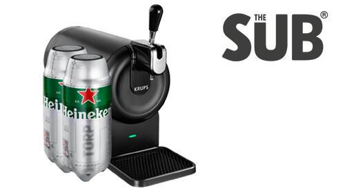 THE SUB Compact Edition + 2 TORPS de Heineken